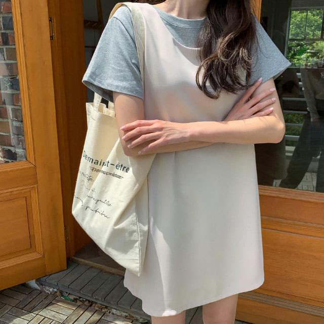 Natural Lettering Eco Bag