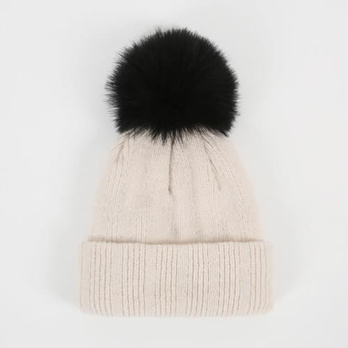Belly Beanie Hat-Ivory