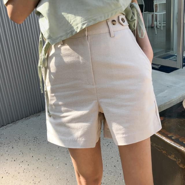 Unique 4-ply cotton short pants