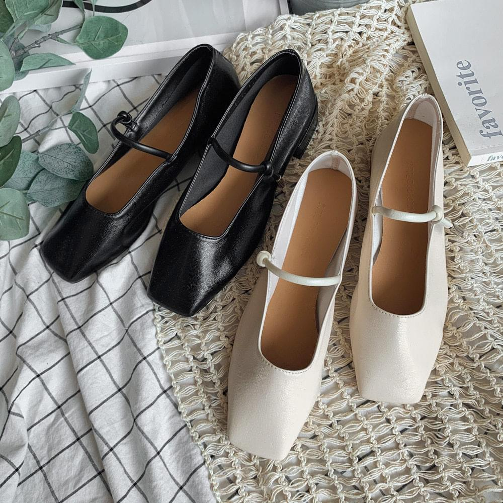 1707 knot square nose shoes