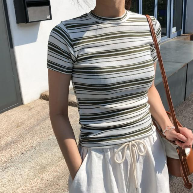 Striped Slim Fit
