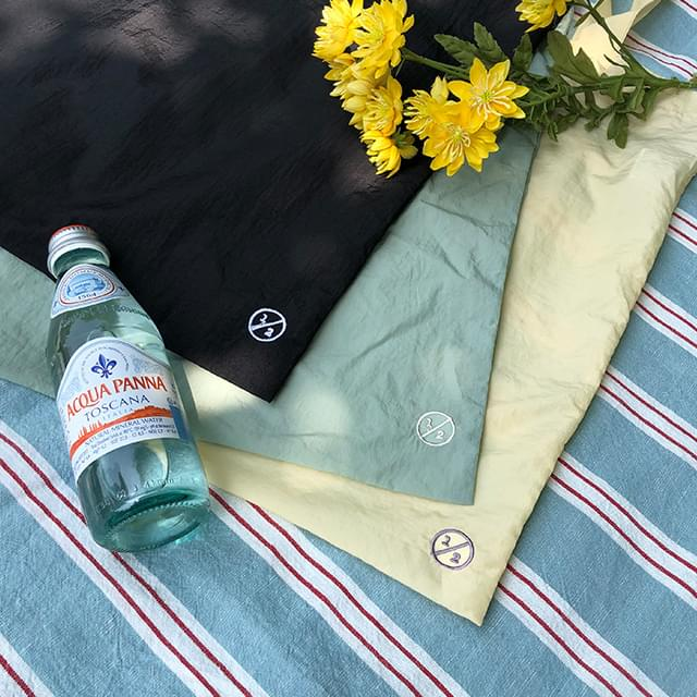 1/2 Embroidery Nylon Eco Bag