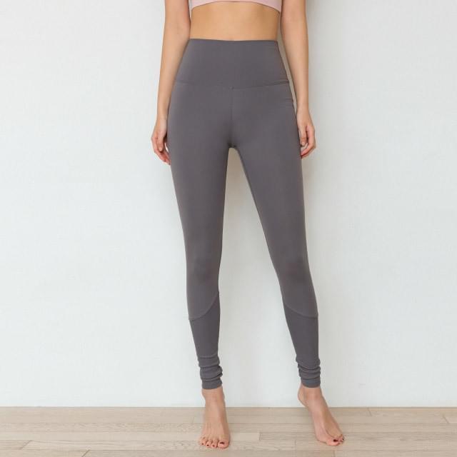 Sportswear Leggings D #01-Charcoal #01
