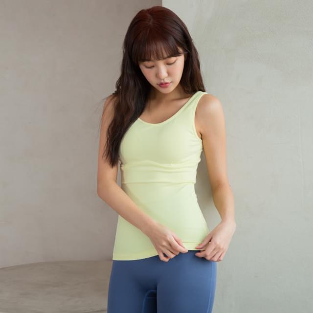 Sportswear Sleeveless #002-Sleeveless Top #002