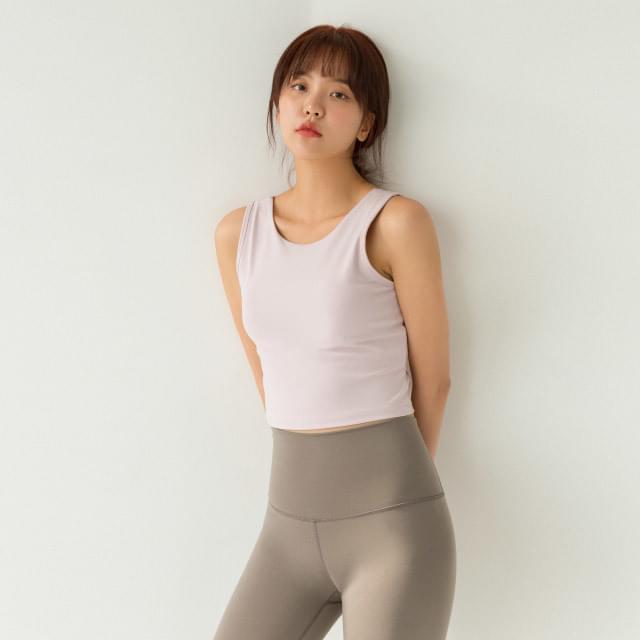 Sportswear Sleeveless #005-Sleeveless Top #005