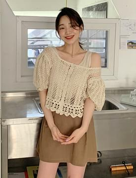 韓國空運 - Honey Punch Short Sleeve Cardigan 針織外套