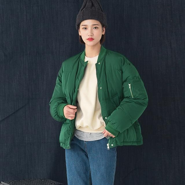 Simple Daily Wellon Padded Jumper