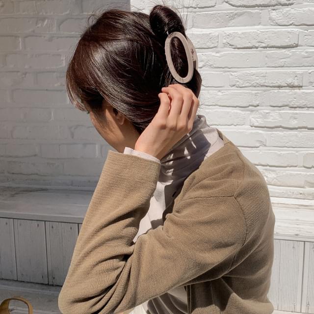 rounding shape hair clips