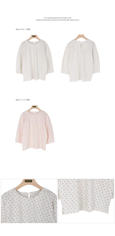 Morning flower blouse