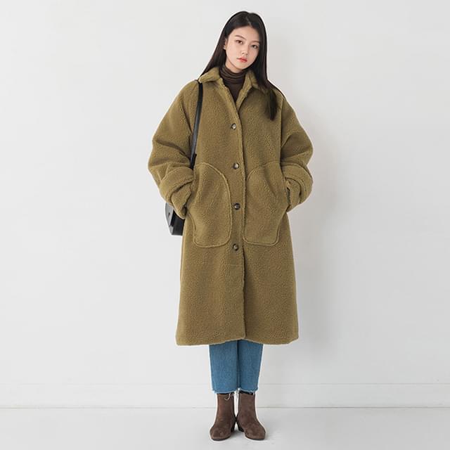 Big Pocket Poppy Dumble Coat