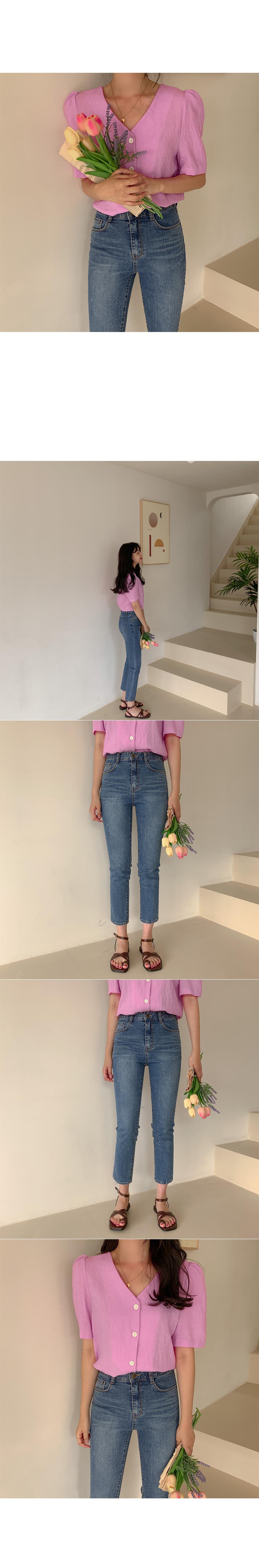 Surin puff blouse
