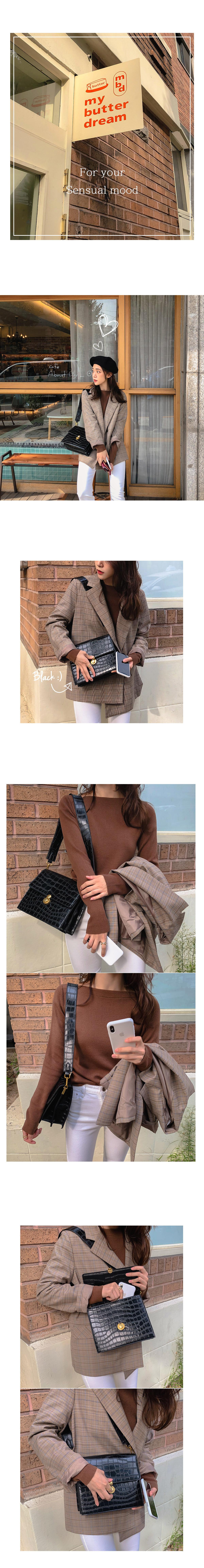 Shape shoulder bag _H