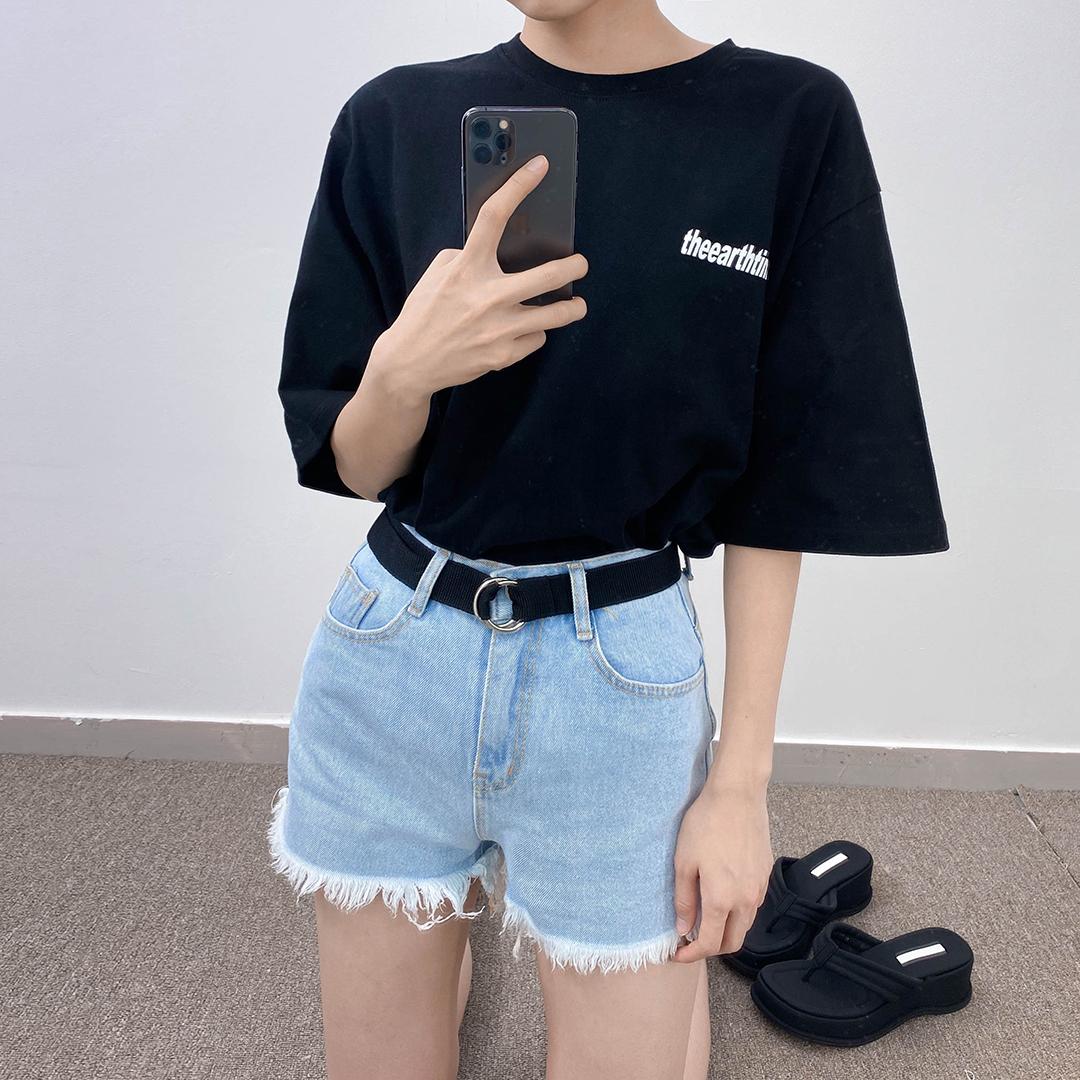 624 belt short pants