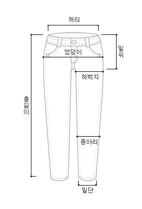 Icy gray denim pants