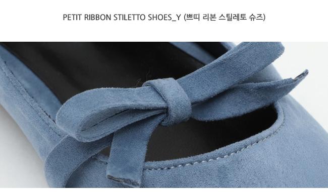 Petit ribbon stiletto shoes_Y
