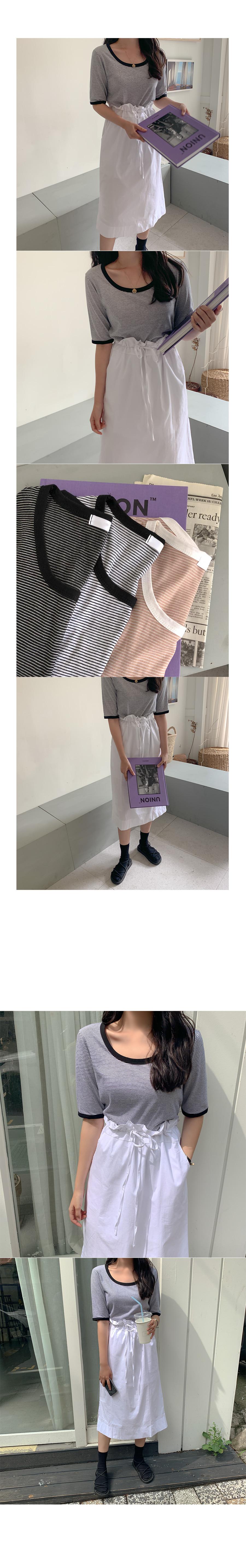 Newdie string skirt