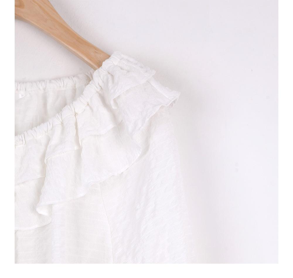 Larene frill blouse