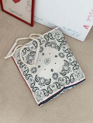 Vintage ethnic pattern eco bag
