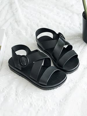 Vertically slingback sandals 2cm