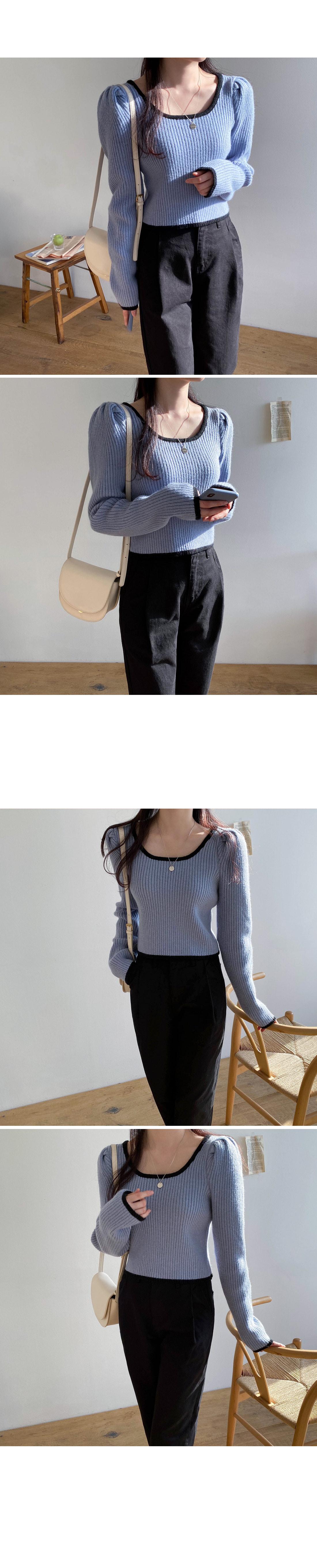 Irene Color Crop Knit