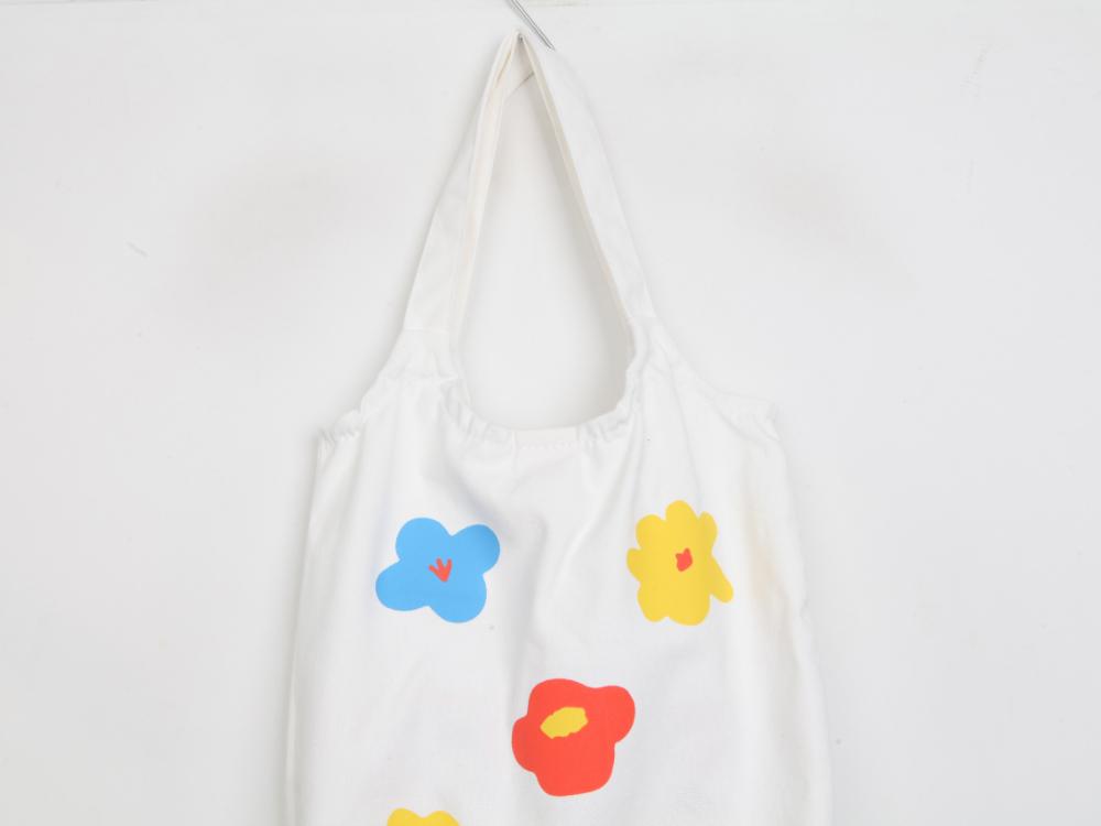Flower paint eco bag