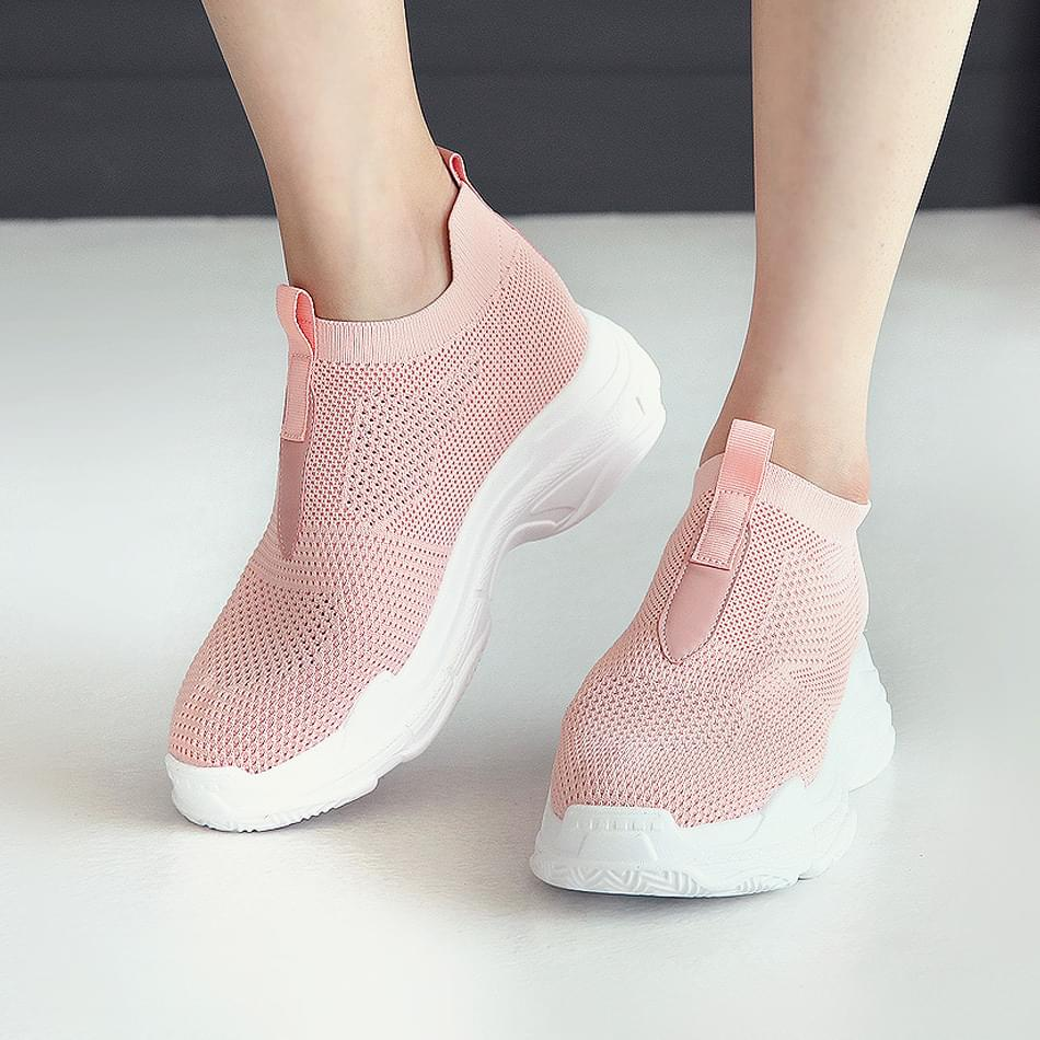 Life Shot Height Sock Sneakers 7cm