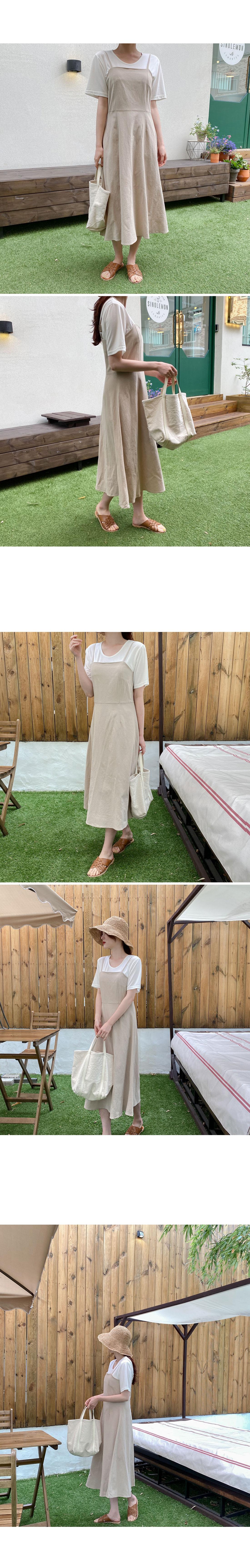 Abel Bustier Long Dress