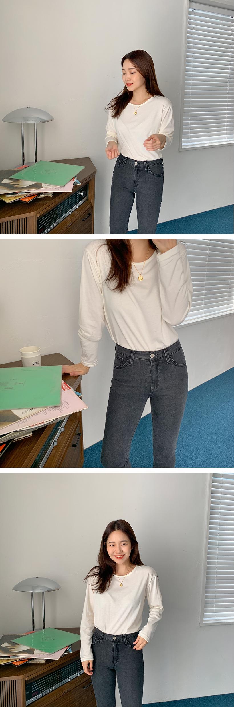 Came cutting denim pants_C