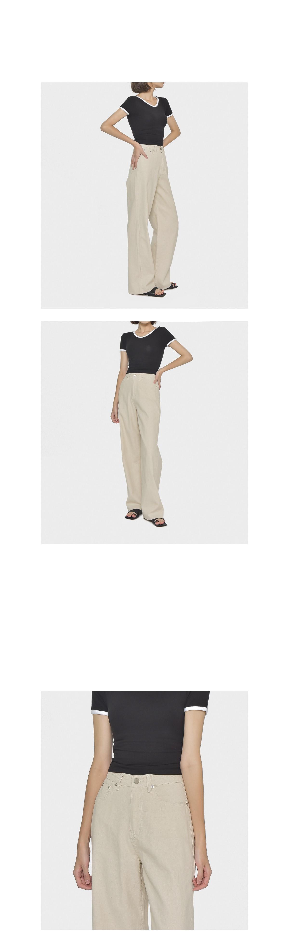 Fischer linen pants