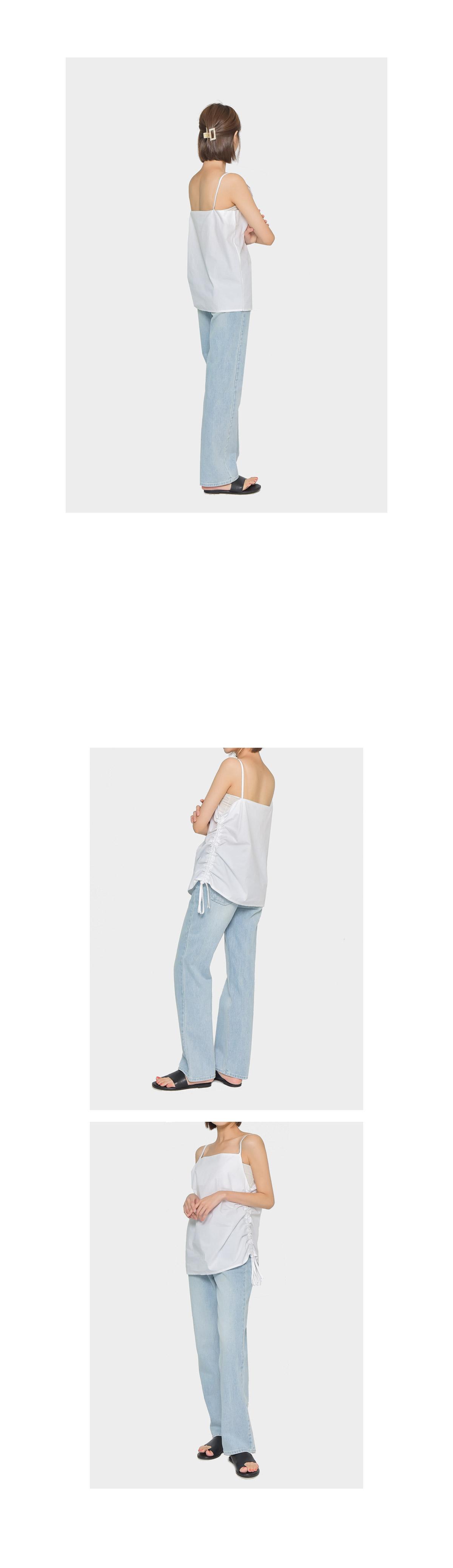 Kinda wide denim pants
