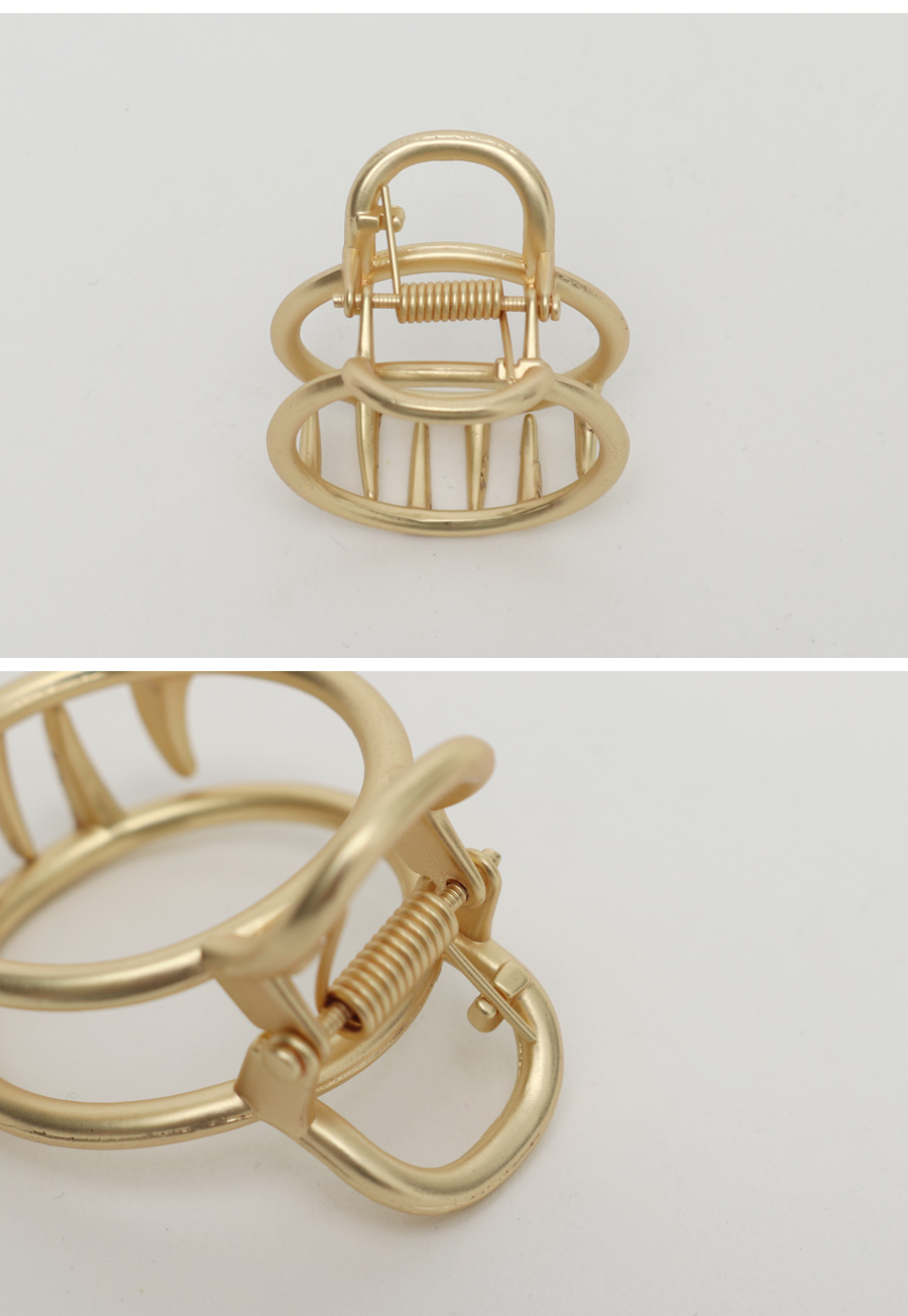Ring gold hair clip_H
