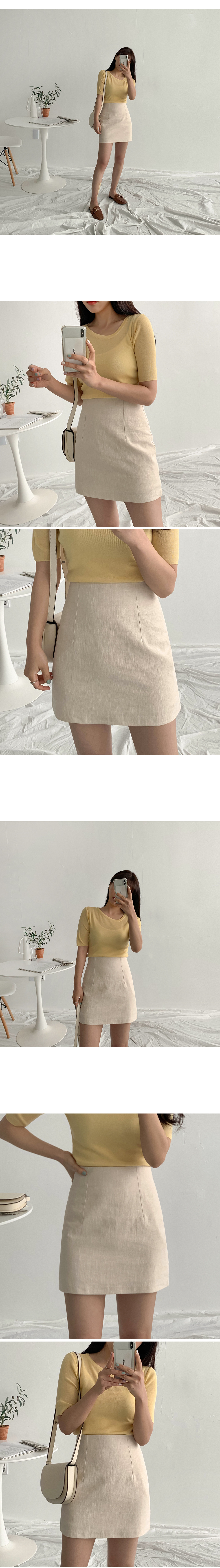Hana Linen Skirt