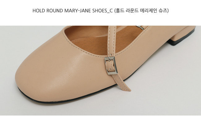 Hold round mary-jane shoes_C