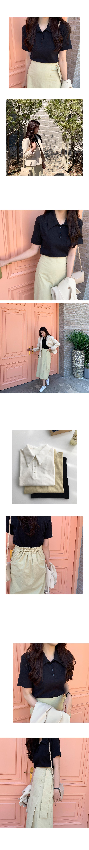 Tilda collar T-shirt