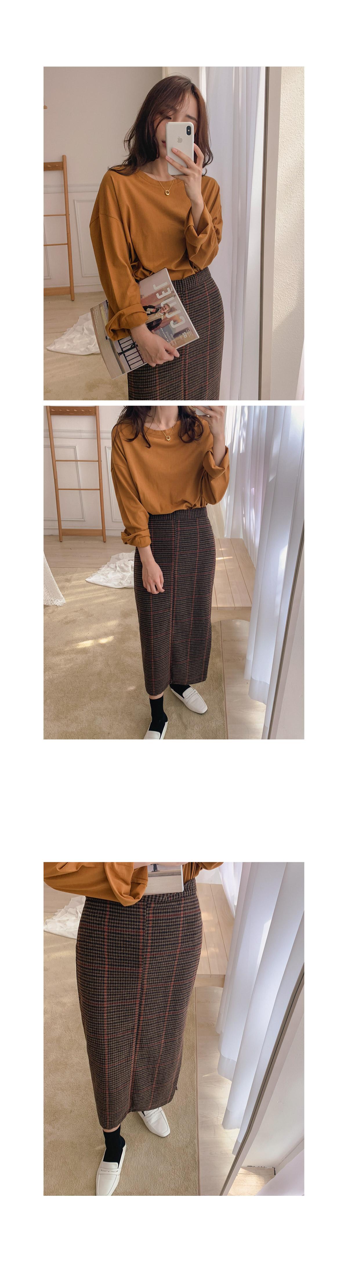 Rail check skirt _Y