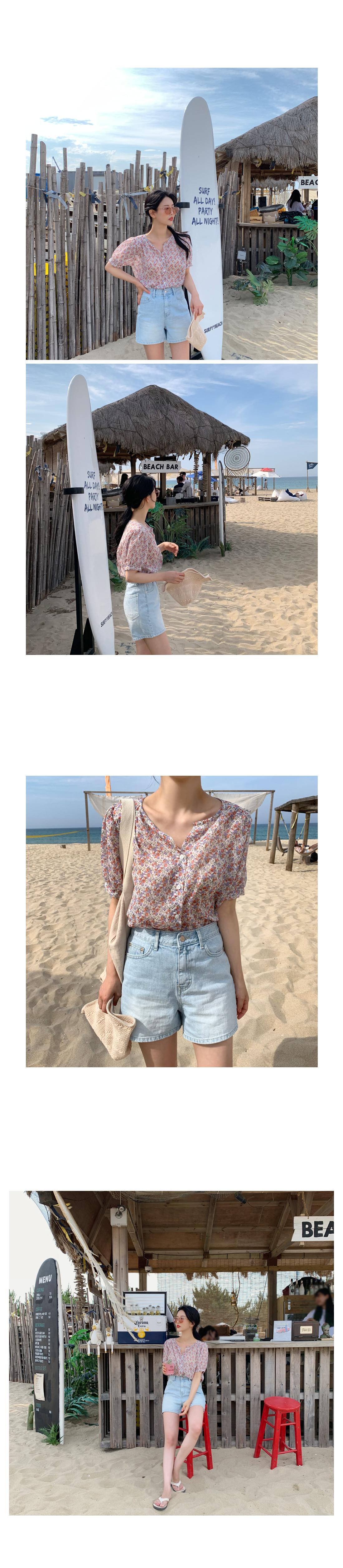 Maru light blue shorts-medium size