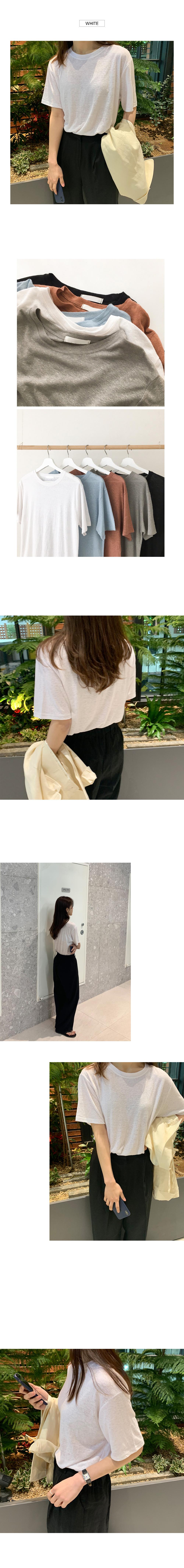 Jerry linen t-shirt