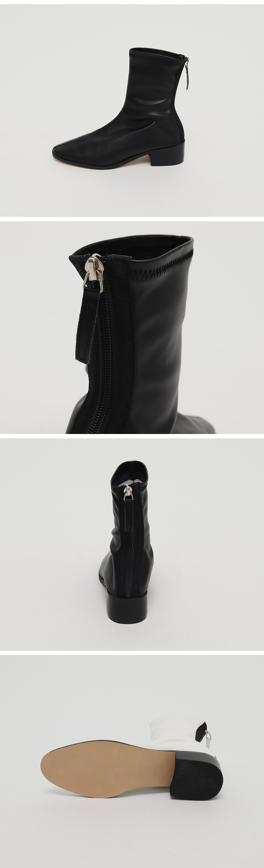 Ride low heel ankle boots_C