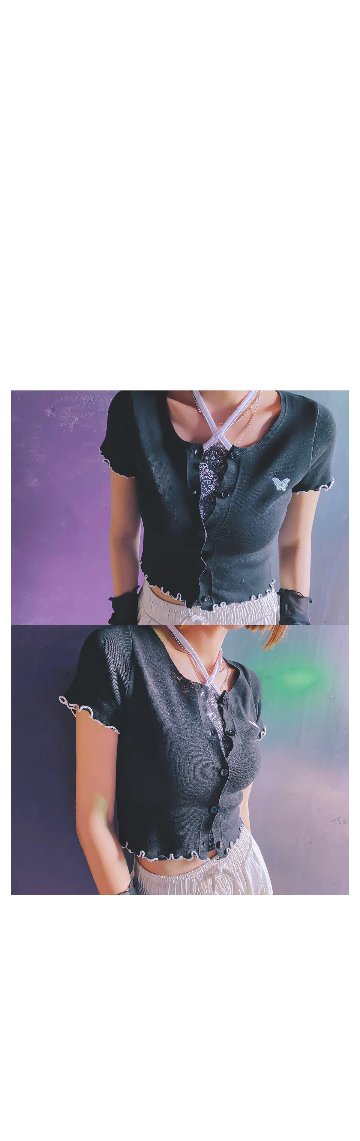 Butterfly Lona Knit Cardigan