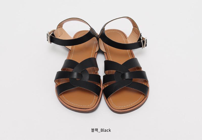 Nomal twist strap sandal_Y