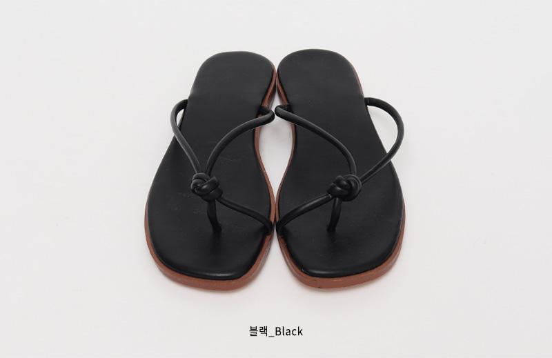 Twist bold line flip-flop_Y