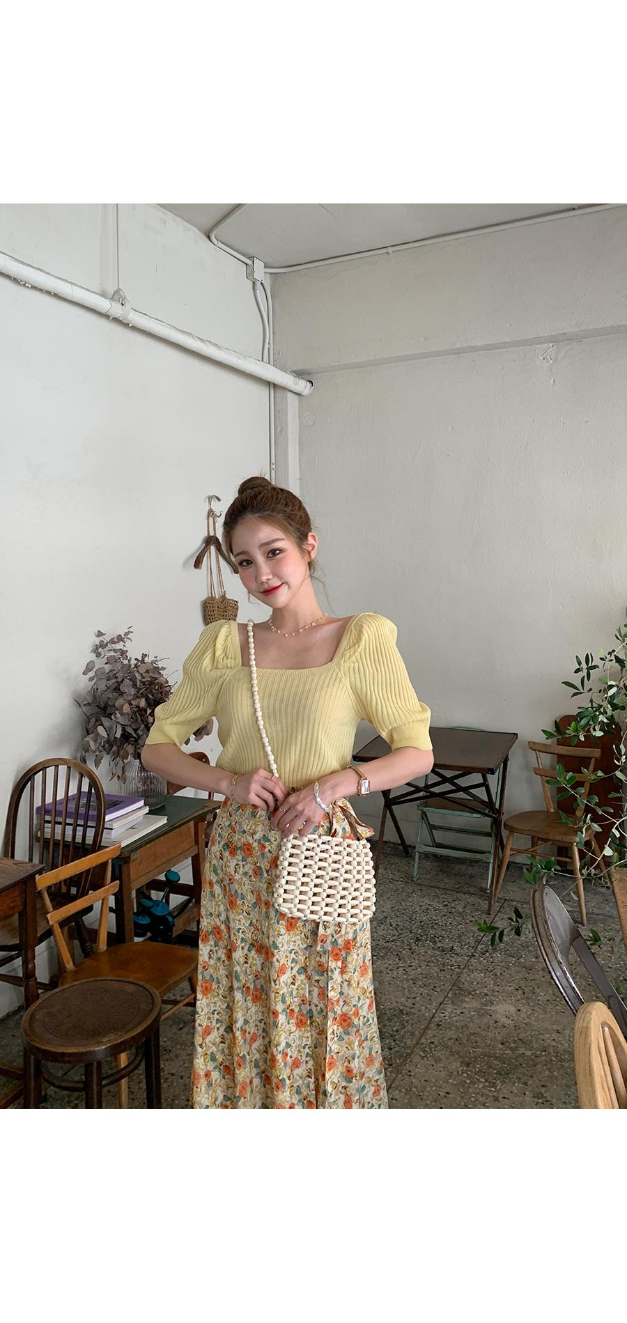 Salangsalpit Wrap Flower Skirt