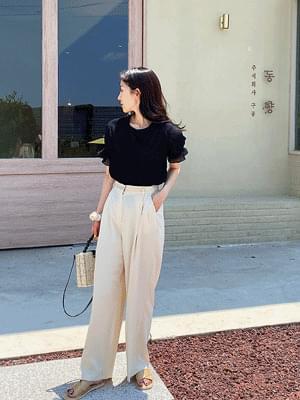 Main see-through blouse