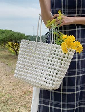 Summer plastic net bag