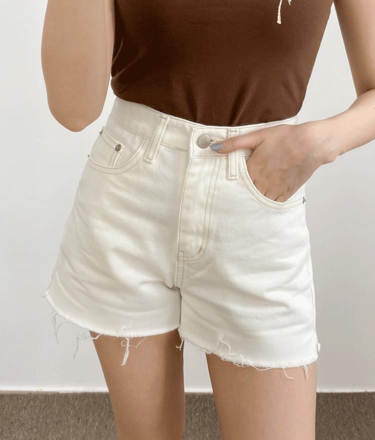 377 stitch white pants