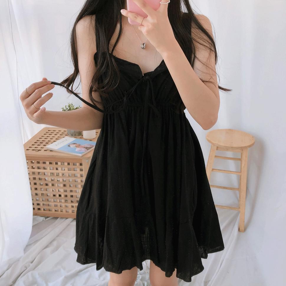 Meringue Ribbon Nashi Dress