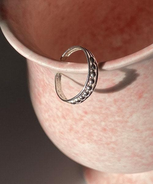 marble toe ring リング