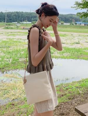 Natural string cotton bag