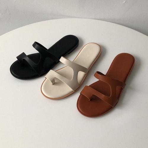 Pick cross slippers
