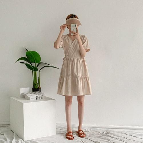 Summer Front Kanga Lap Dress